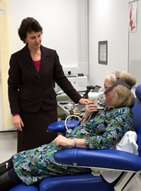 Rebecca Fitzgerald Cancer breath test