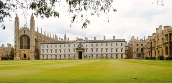 Photo of Kings College from the backs